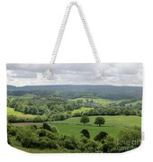 View Of The Surrey Hills From Newlands Corner Weekender Tote Bag