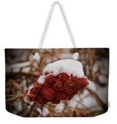 Vignettes - First Snow 1 Weekender Tote Bag