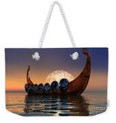 Viking Boat Weekender Tote Bag