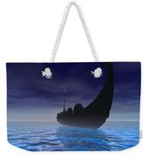 Viking Ship Weekender Tote Bag by Corey Ford