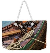 Viking Ship Rigging Weekender Tote Bag