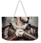 Viking Warrior Weekender Tote Bag