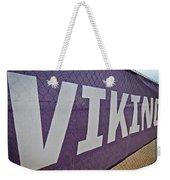 Vikings Banner Weekender Tote Bag