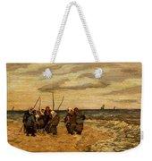 Viktor Ivanovich Zarubin Russian 1866  1928 Fisherwomen In Normandie Weekender Tote Bag