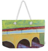 Village And Bridge Weekender Tote Bag