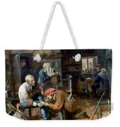 Village Barber-surgeon Weekender Tote Bag