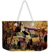 Village In Fall Weekender Tote Bag