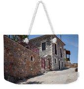 Village In Greece Weekender Tote Bag