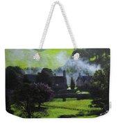 Village In North Wales Weekender Tote Bag