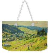 Village In The Foothills Weekender Tote Bag
