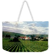 Village In The Vineyards Of France Weekender Tote Bag