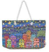 Village Lights Weekender Tote Bag