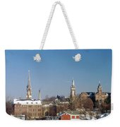 Village Of Spires Weekender Tote Bag