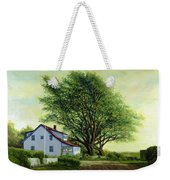 Village Road Orient  16x20 Weekender Tote Bag