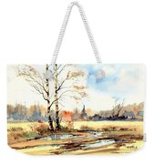 Village Scene I Weekender Tote Bag