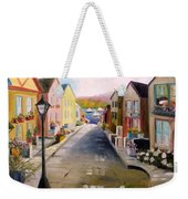 Village Street Weekender Tote Bag