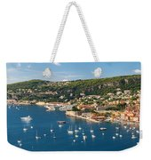 Villefranche-sur-mer And Cap De Nice On French Riviera Weekender Tote Bag
