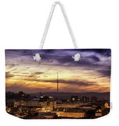 Vilnius Tv Tower Weekender Tote Bag