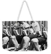 Vince Lombardi (1913-1970) Weekender Tote Bag by Granger