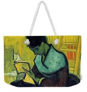 Vincent Van Gogh  A Novel Reader Weekender Tote Bag