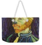 Vincent Van Gogh Cat    Weekender Tote Bag