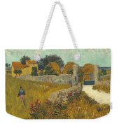 Vincent Van Gogh, Farmhouse In Provence Weekender Tote Bag