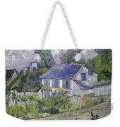 Vincent Van Gogh, Houses At Auvers Weekender Tote Bag