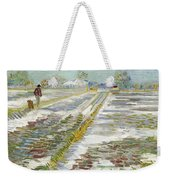 Vincent Van Gogh, Landscape With Snow Weekender Tote Bag