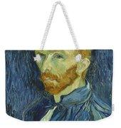 Vincent Van Gogh Self-portrait 1889 Weekender Tote Bag