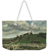 Vincent Van Gogh, The Hill Of Montmartre With Stone Quarry, Paris Weekender Tote Bag