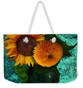 Vincent's Sunflowers 2 Weekender Tote Bag