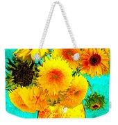 Vincent's Sunflowers 4 Weekender Tote Bag