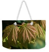 Vine Maple Leaves Weekender Tote Bag