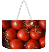 Vine Ripe Tomatoes Fine Art Food Photography Weekender Tote Bag