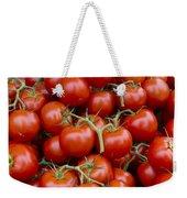 Vine Ripe Tomatos Weekender Tote Bag by John Trax