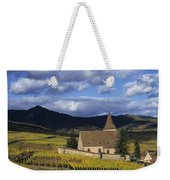 Vineyard In Alsace, France Weekender Tote Bag