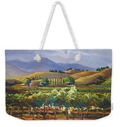 Vineyard In California Weekender Tote Bag