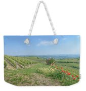 Vineyard In Italy Weekender Tote Bag
