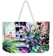Vineyard Patio Weekender Tote Bag