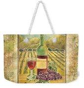 Vineyard Pinot Noir Grapes N Wine - Batik Style Weekender Tote Bag