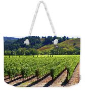 Vineyards In Sonoma County Weekender Tote Bag