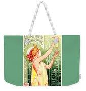 Vintage Absinthe Robette Poster Weekender Tote Bag