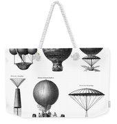 Vintage Aeronautics - Early Balloon Designs Weekender Tote Bag