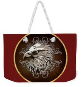Vintage American Bald Eagle Weekender Tote Bag