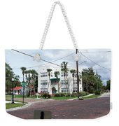 Vintage Florida Apt Bldg Weekender Tote Bag