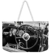 Vintage Aston Martin Dashboard Weekender Tote Bag