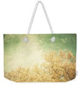 Vintage Autumn Weekender Tote Bag