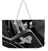 Vintage Baseball Chairs Weekender Tote Bag