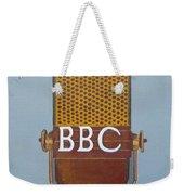 Vintage Bbc Mic Weekender Tote Bag