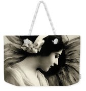 Vintage Beauty Weekender Tote Bag